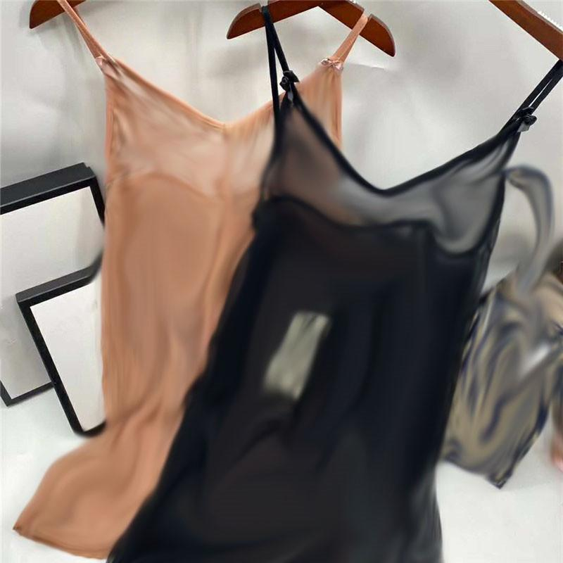 Nude Classic Letter Sleepwear Vuoto con scollo a V Sexy Lingerie Set Lady Lace Mesh Dress Home Bra Pigiama Donna Biancheria intima