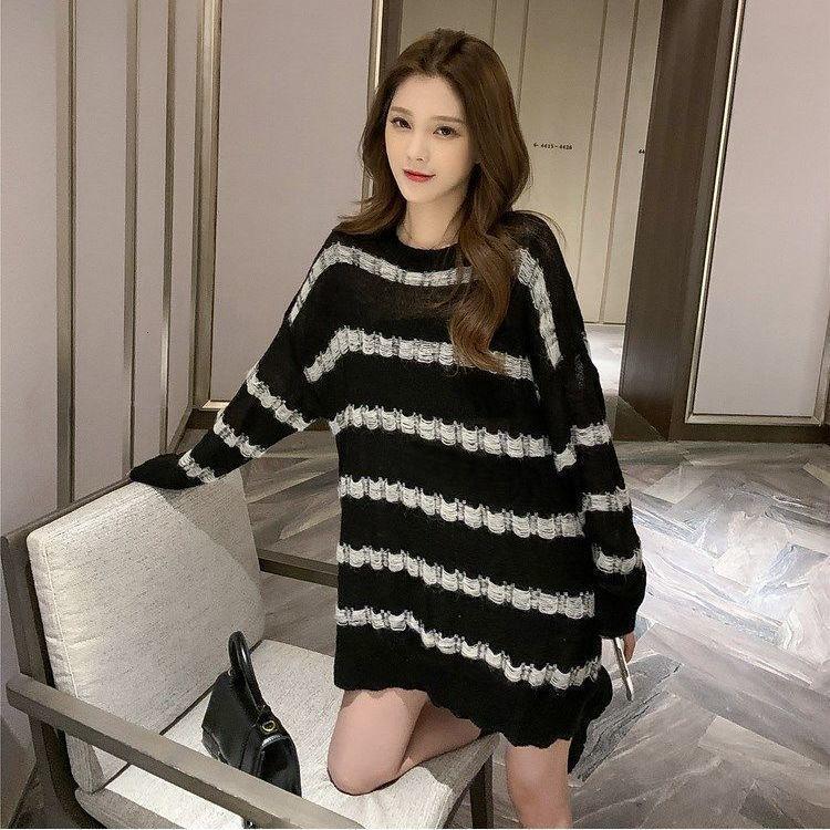 2020 Sujetadores de invierno de otoño ropa de mujer de manga larga jersey de manga larga. Suéter de estilo coreano.