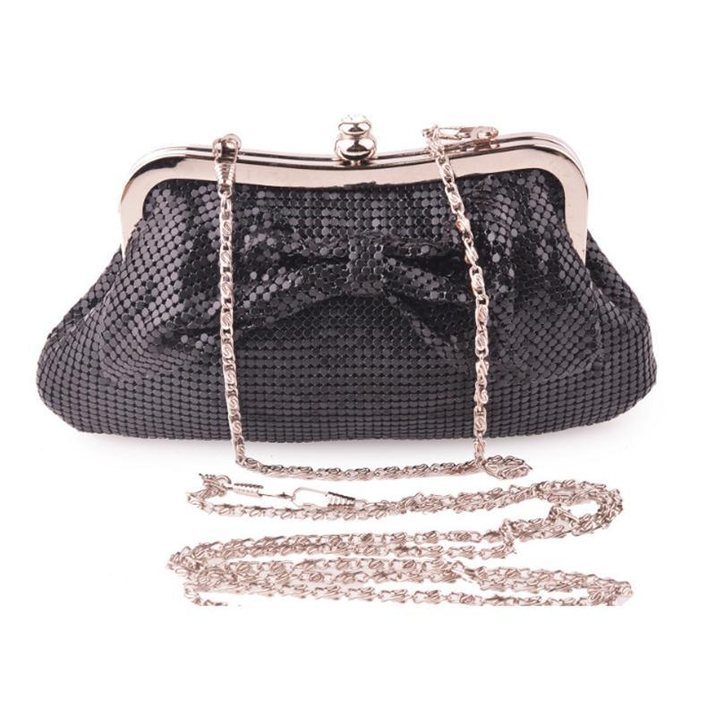 XIYUAN Long Chain Bag Party Black Fashion Coin Ladies Female Clutch Phone Elegant Evening Small Purse Women Handbags Jeojv