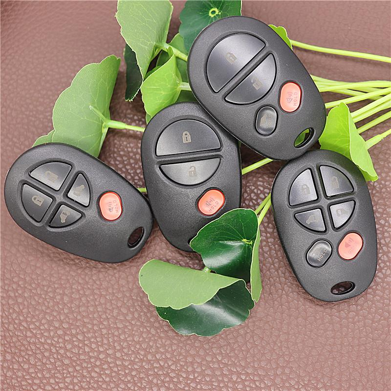 Отдаленный автомобиль Ключ FOB Чехол для Toyota Sienna 2004 2005 2006 2007 200 200 200 201 201 201 201 201 201 2017 2012 FCC