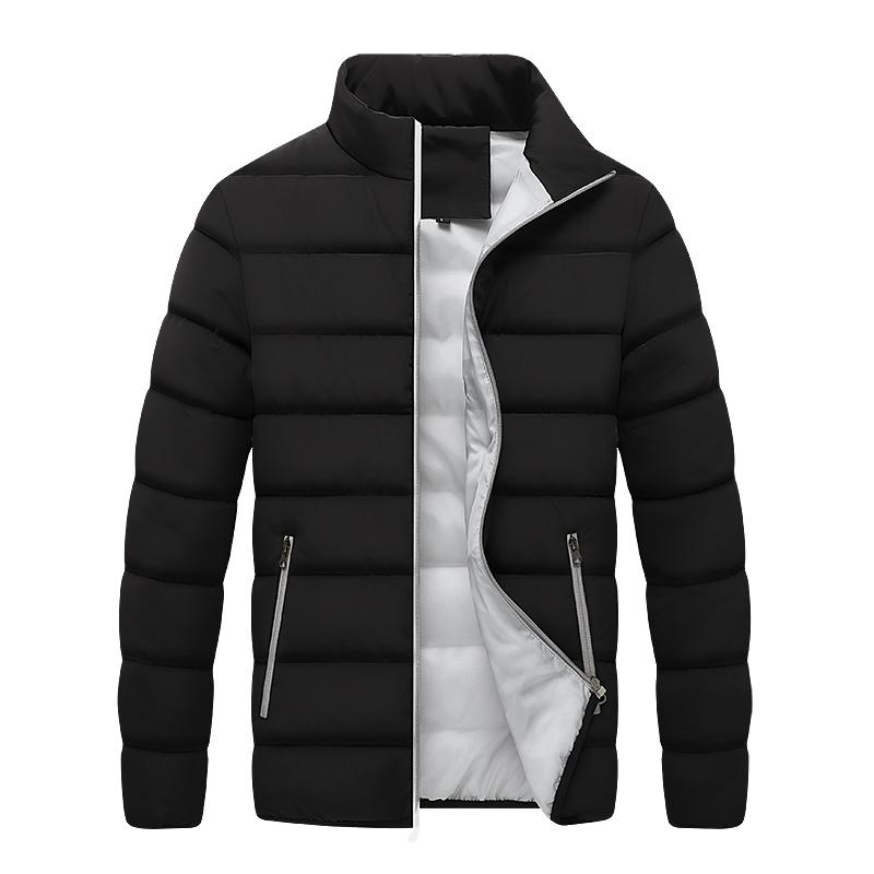 Men's winter down jacket Winter Mens New Casual Thicken Warm Cotton Slim Clothes Youth Jacket Men's Wear