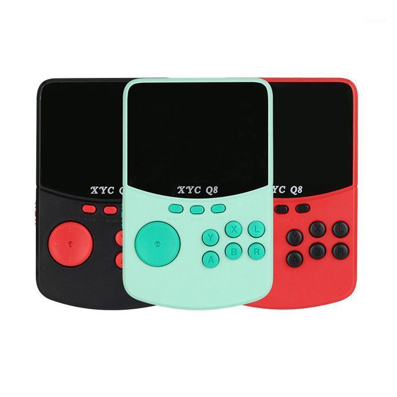 Jogadores portáteis jogadores coolbaby Q8 console portátil 16g 500 jogos arcade retro USB carregando suporte tf cartão de tv output1