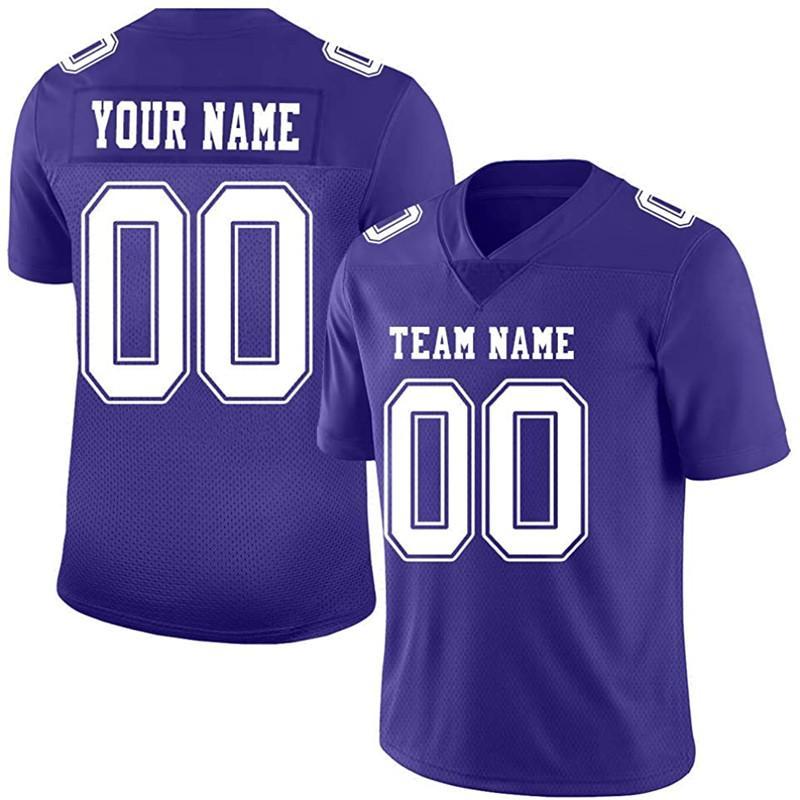Diseñe a medida su propio jersey de fútbol púrpura