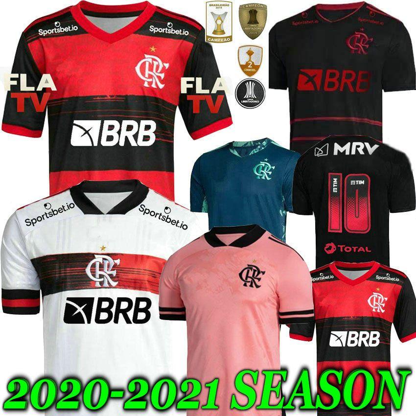 20 21 flamengo jersey 2020 2021 Flemish DIEGO GUERRERO VINICIUS JR Soccer Jerseys Vest Flamengo GABRIEL B sports football woman shirt