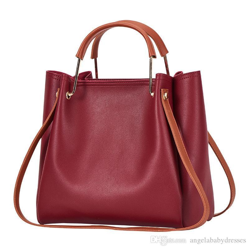 Fashion Handbags Bags Women shoulder bag genuine Luxurys Designers Bags 2020 Women's Bag New Leisure Bucket Bag