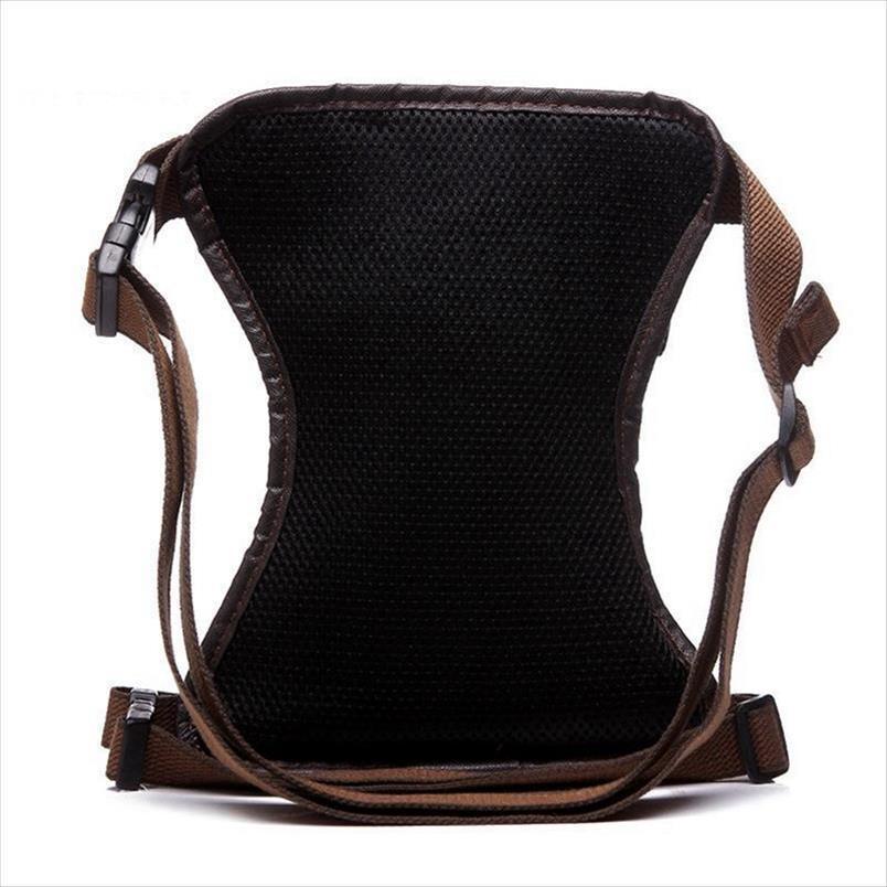 موضة جديدة للماء قماش الخصر حقيبة عارضة السفر الرجال حقيبة دراجة نارية حقيبة الساق فاني الخصر حزمة 5 اللون