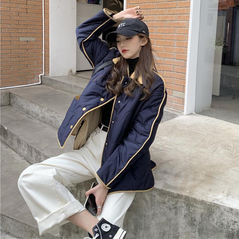 Женская повседневная хлопчатобумажная мягкая одежда для женщин 2021 новый свободный рукав хлопковое мягкое пальто женское зимнее пальто
