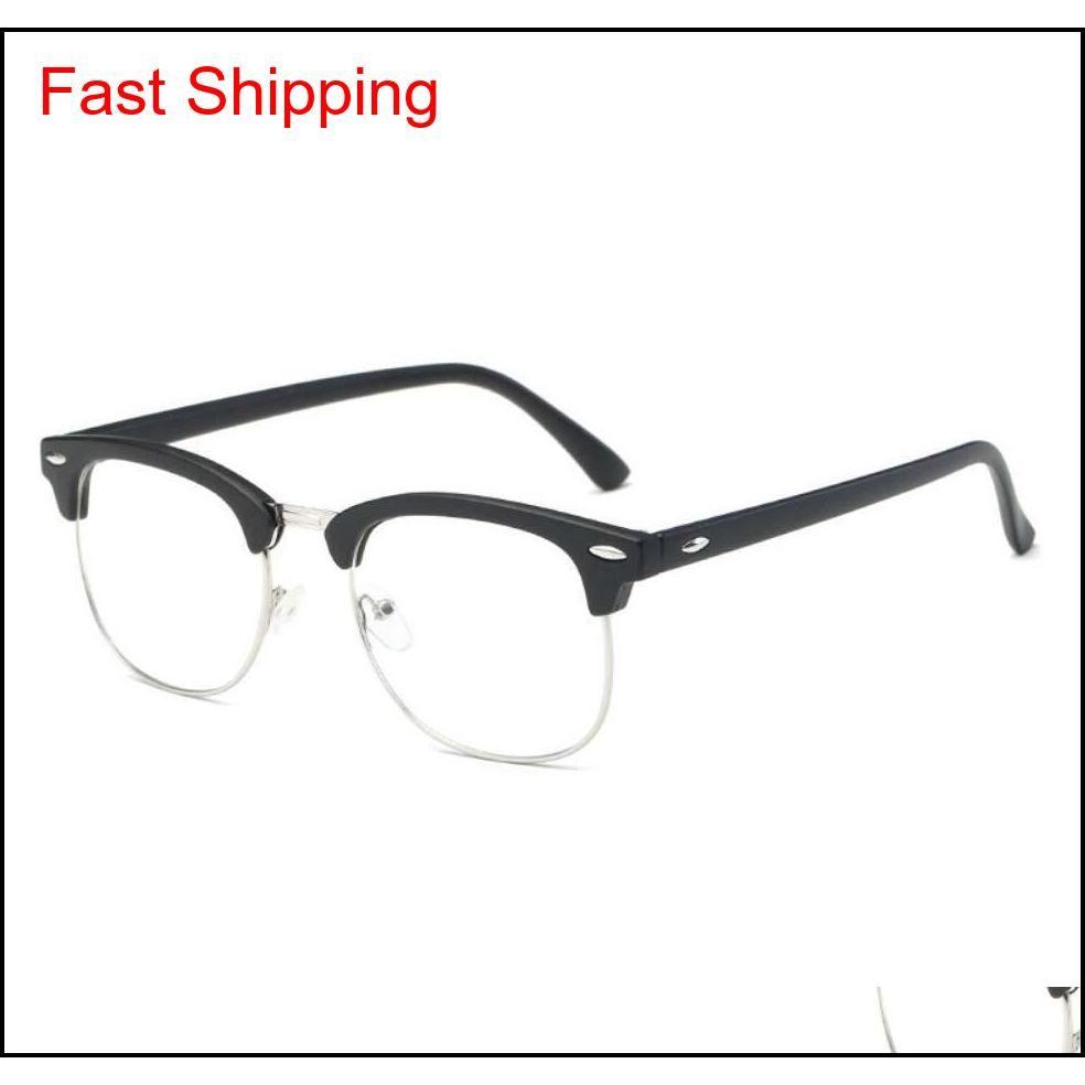 Fashion Classic Club Gafas de sol Marcos Anti Blue Light Designer EyeGlasses Frame Bands Gafas de Sol Hombres Mujeres GL095 Eyewear con bolsa MCRTZ