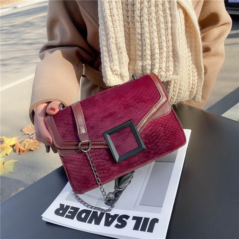 2021 Mulheres luxuosas bolsa de couro de alta qualidade PU bolsa de ombro marca designer crossbody sacos pequenos moda senhoras sacos
