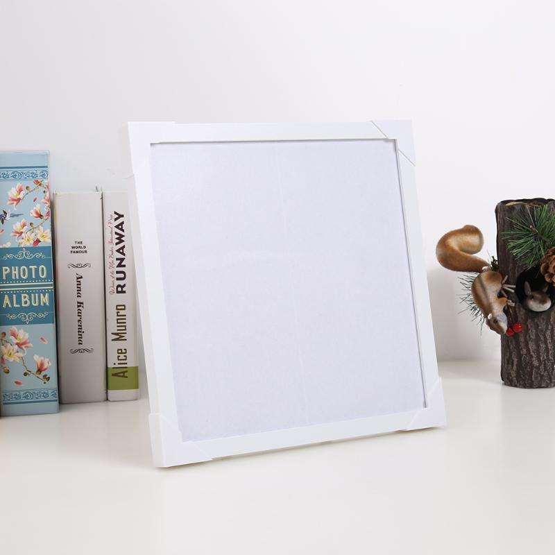 Çerçeve Çam Ahşap İç Çerçeve Boyama DIY PO Poster Ekran Tuval Yağ Resim Dekoratif Çizim için Pad Ile