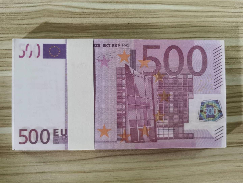 Prop 500Euro Movie Nightclub Bar Handwerk Atmosphäre Euro Faux Billet Geld Geld Gefälschte Geld Qualität Billet Play Top 10 LR14 CQLBR HMIQs
