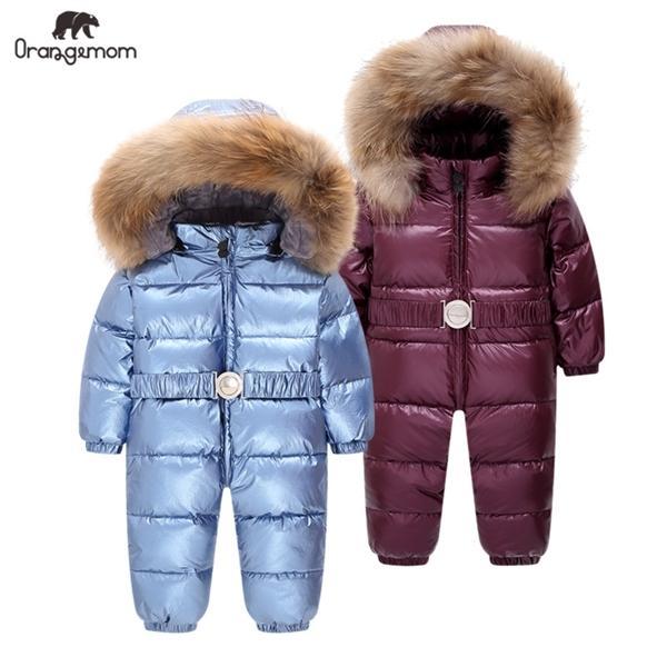Комбинезоны мальчиков, зимняя куртка-пуховик для детей от 1 до 4 лет C1116