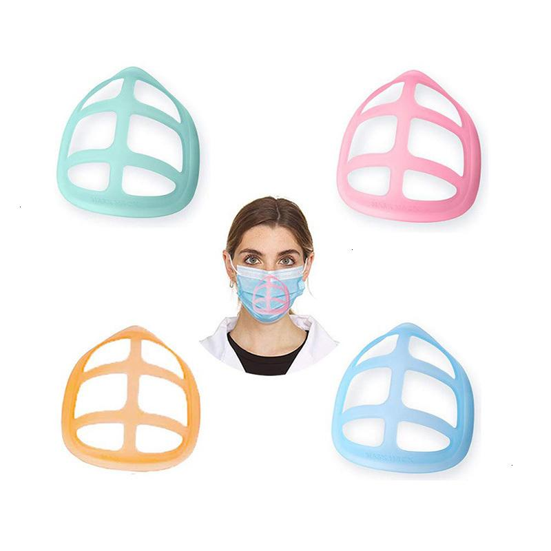 Lipstick Styles Protection 3D Stand Mask Bracket 6 PP Mask Inner Support For Enhancing Breathing Smoothly Masks Tool Accessory GWC4108