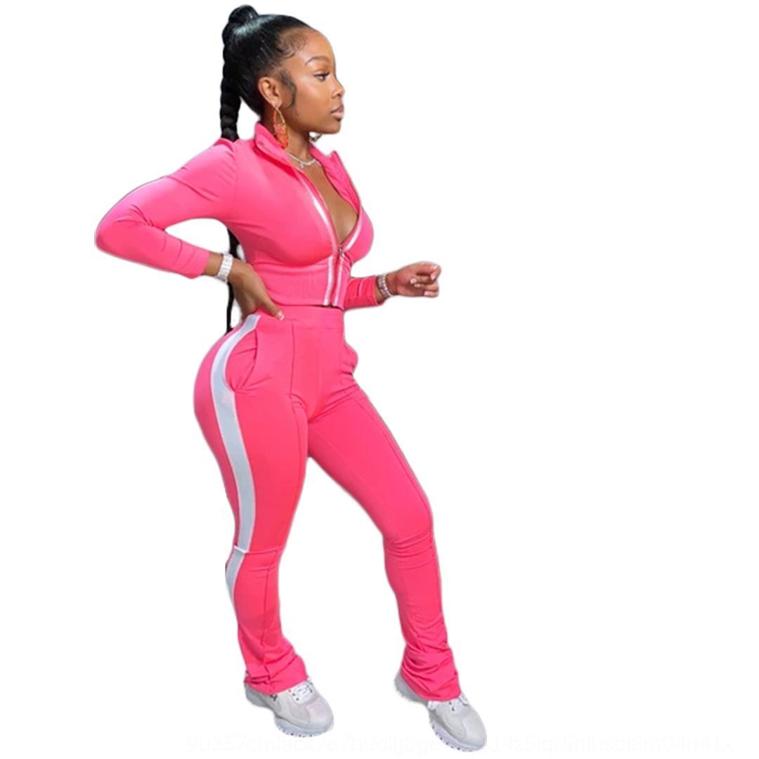 8ADP Spring Fall Simple Wine039; S бархатный костюм Scestsuits Велюльные ткани Женщины Большой размер бархат спортивный набор с длинным рукавом CL молнию