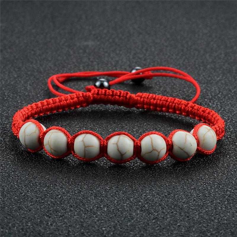Articoli regolabili intrecciata intrecciata perline elastiche braccialetto naturale tigre occhio pietra braccialetti tessere corda corda amicizia gioielli homme pulsera