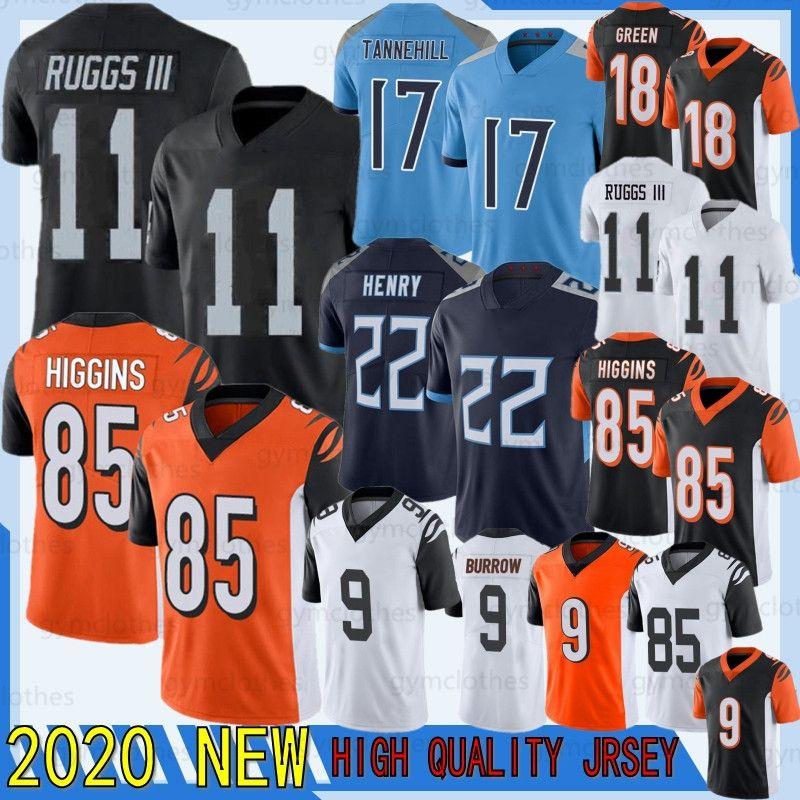 9 Joe Burrow 2020 Tee Higgins Neue A.j. Green 17 Ryan Tannehill Football Derrick Henry Jersey Henry Ruggs III Football Shirt