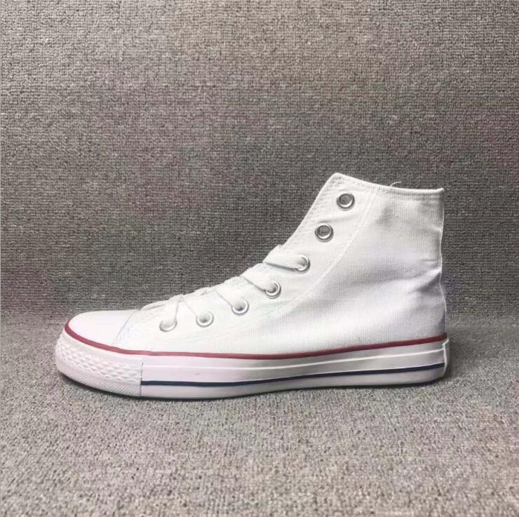 Nuovo prezzo promozionale della fabbrica! Scarpe su tela Donne e uomini, elevato stile classico in tela classica scarpe da scarpe da ginnastica in tela taglia 35-45
