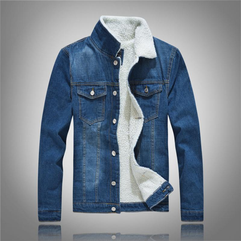 Chaquetas para hombres 2021 Algodón Casual Denim Moda Jacke Chaleco Abrigo Jean de alto grado Abrigo Top Romificado Slim Fit Ropa de Vaquero Masculino