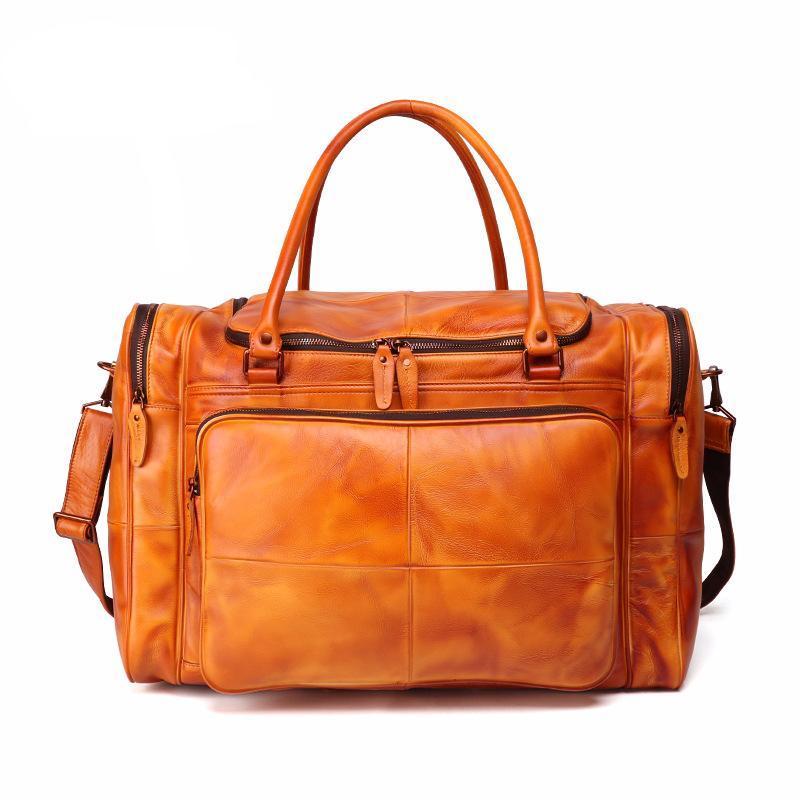 Borsa a tracolla in pelle Donne Borse a tracolla Borse a tracolla Multi-Pocket Handbag Grande capacità Borsa da viaggio Borsa da viaggio