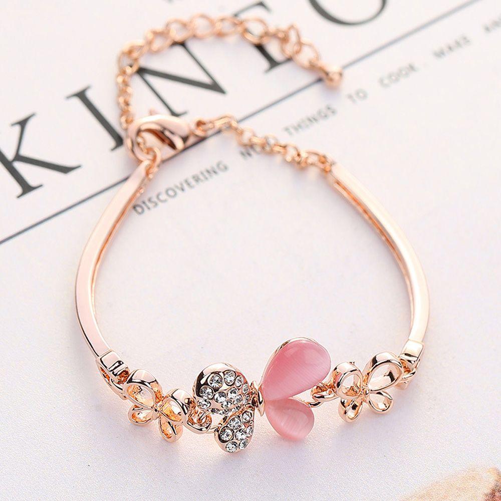 Donne hpxmas per farfalla insetto forma fascino nuovo design 2020 marchio semplice braccialetto di moda regalo delle donne
