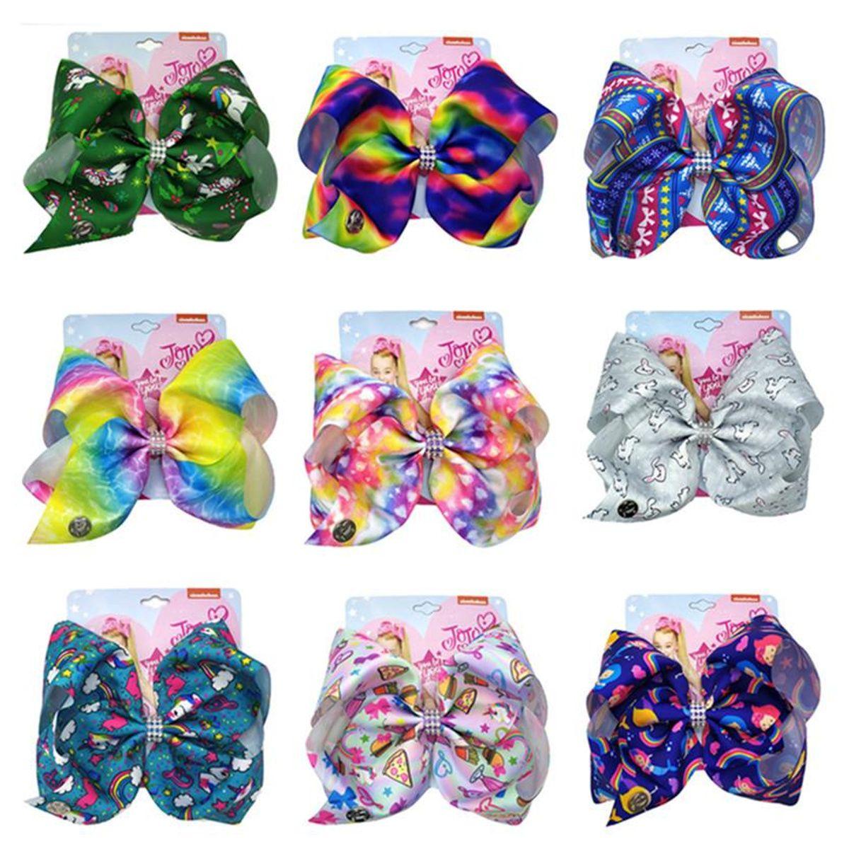 Мода Девушки Swia Bow Boot Hair Clip Bows Bowlfly Knot HairClip Barnettes Для Детских Художник Прикосновение Прикосновение Аксессуар для волос С Картоном 17 Цвет