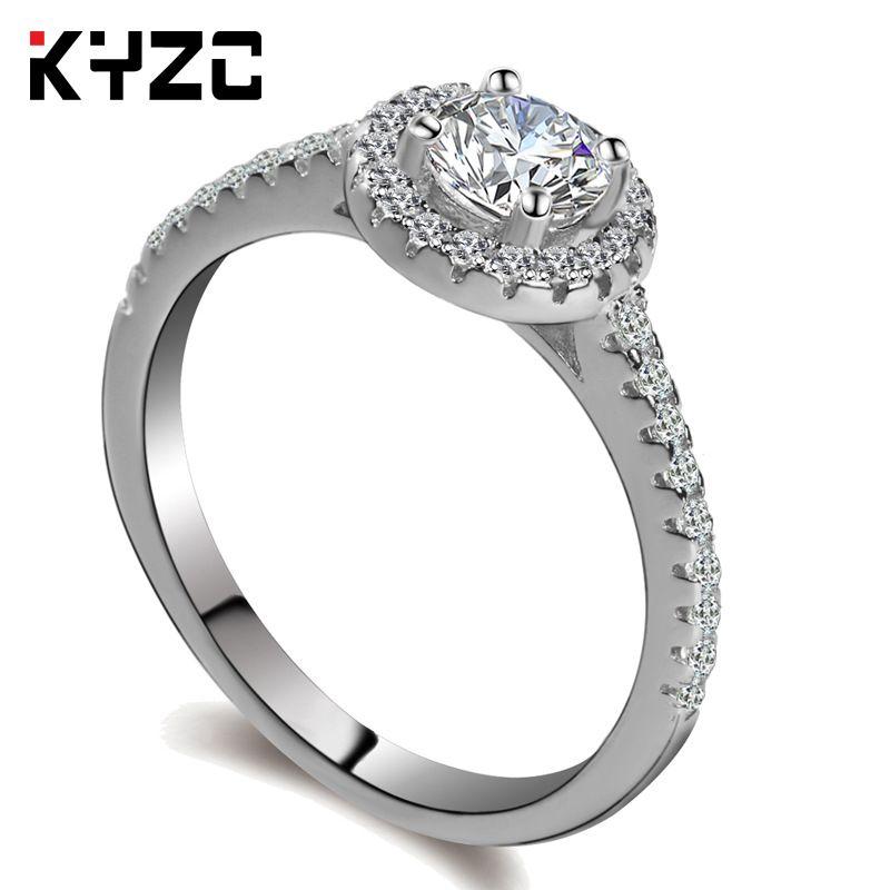 Ручное кольцо для ручного орнамента Женская корейская версия Роскошное кольцо Micro-Set для брачного кольца