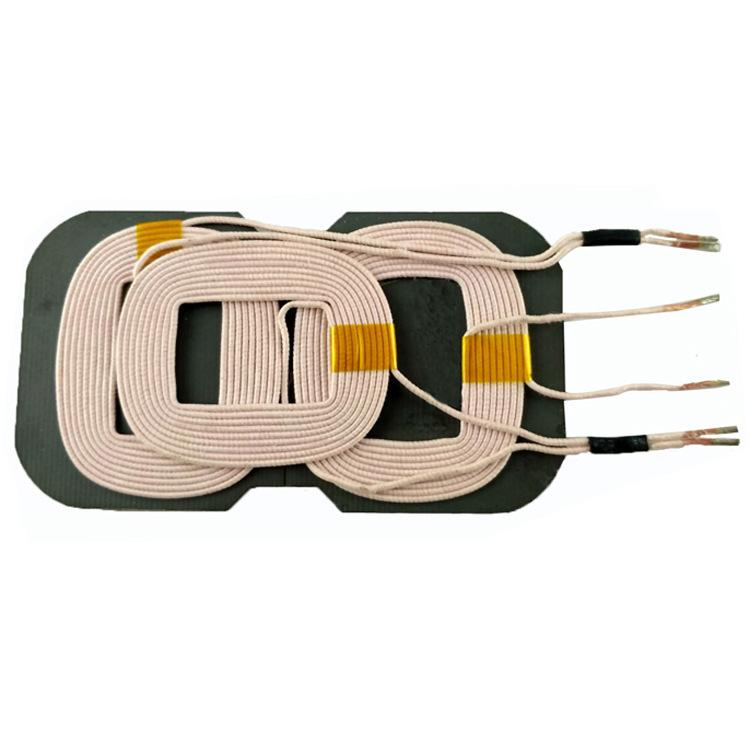 Üreticiler tedarik A2 Kablosuz Şarj Verici Üç Bobin 10 W Cep Telefonu Kablosuz Şarj Bobin Spot Toptan