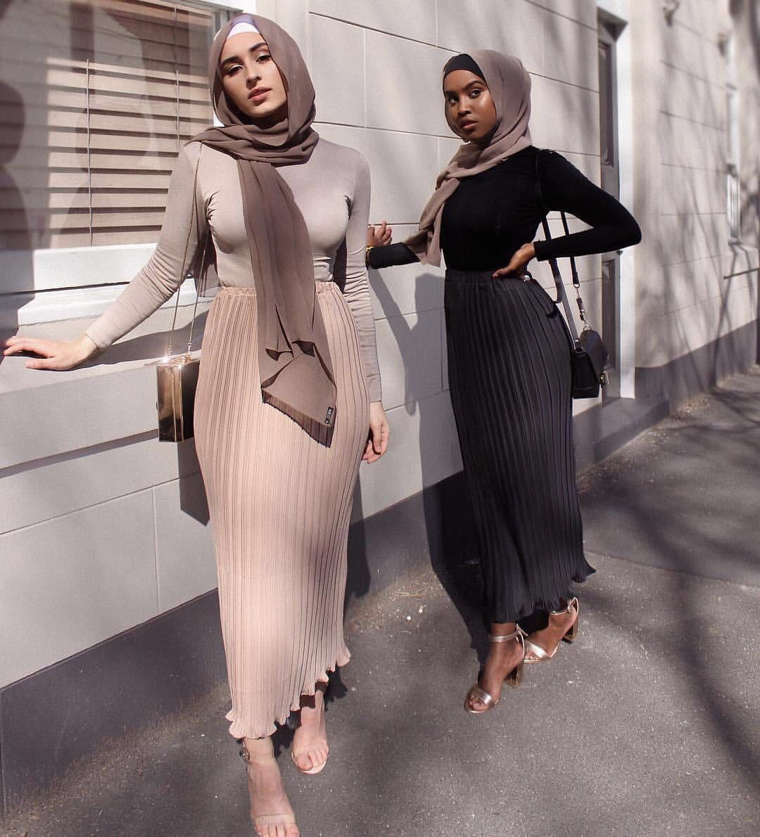 Женщины Мусульманский карандаш длинная юбка шифон плиссированная юбка упругие юбки высокая талия ОАЭ Исламская африканская одежда вечеринка Maxi юбки Y200704