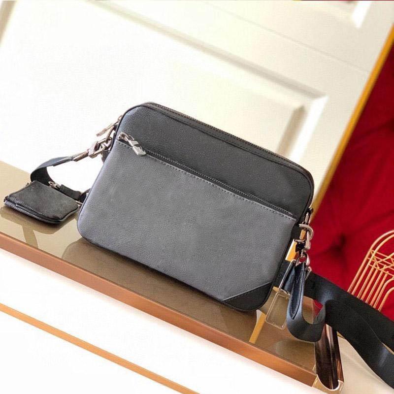 Hochwertige Designer Set Crossbody Klappe Taschen 3 Kombination Messenger Mode Schulter Echtes Leder Handtaschen Geldbörsen Tasche Marke Fashio Ldka