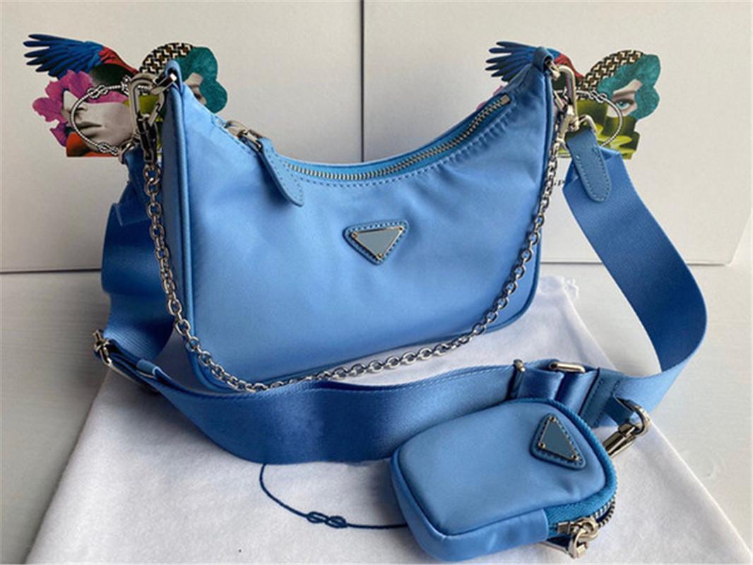 Hot Chain Cross-Body Re-Edition Bag Bag qjlgm Дизайнер Лучшие продажи нейлоновая кожаная леди сумка качества роскошные Tote High Designer Handb LNHW