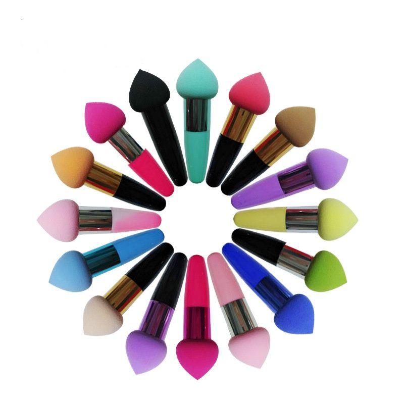 Neue Pilzkopfform Puff Trocknen und Nass Make-up Schwamm Kosmetische Grundlage Concealer Blush Creme Pulver Schönheit Werkzeuge für Gesicht glatt