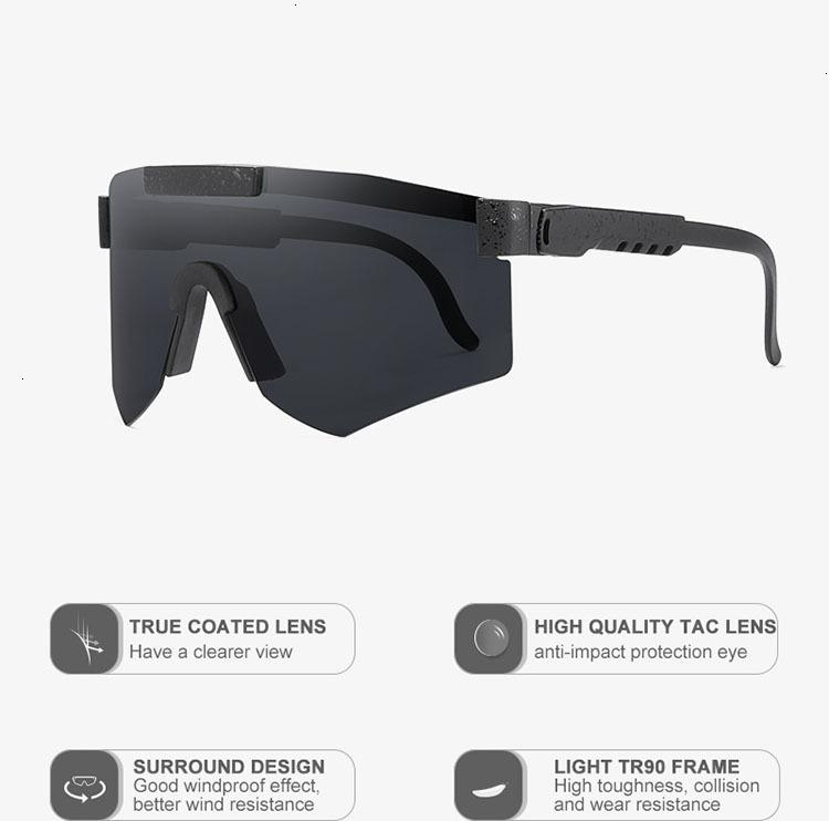 Gafas Viper Gafas de sol Especialista 1993 Doble polarizado 2000 ancho The Pit Sports X9EQ UFRWX