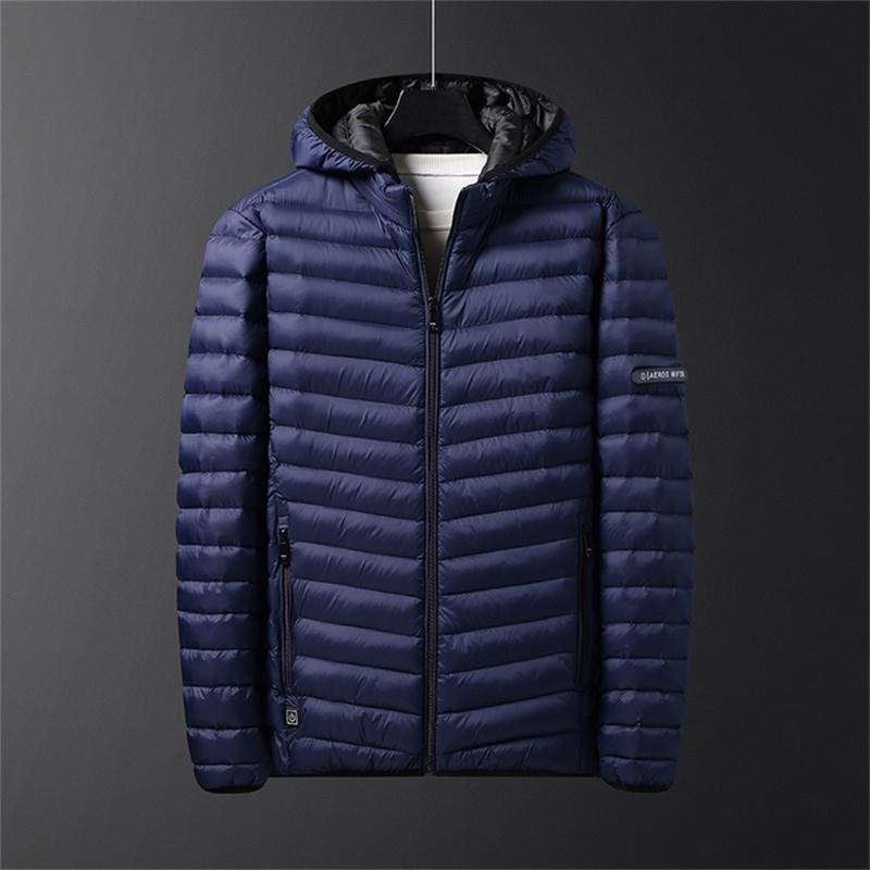 Зимние мужчины с подогревом куртка пальто вниз Parka Puffer куртка одежда Весов Chauffante WinterJas Heren Blouson Homme Hiver 201217