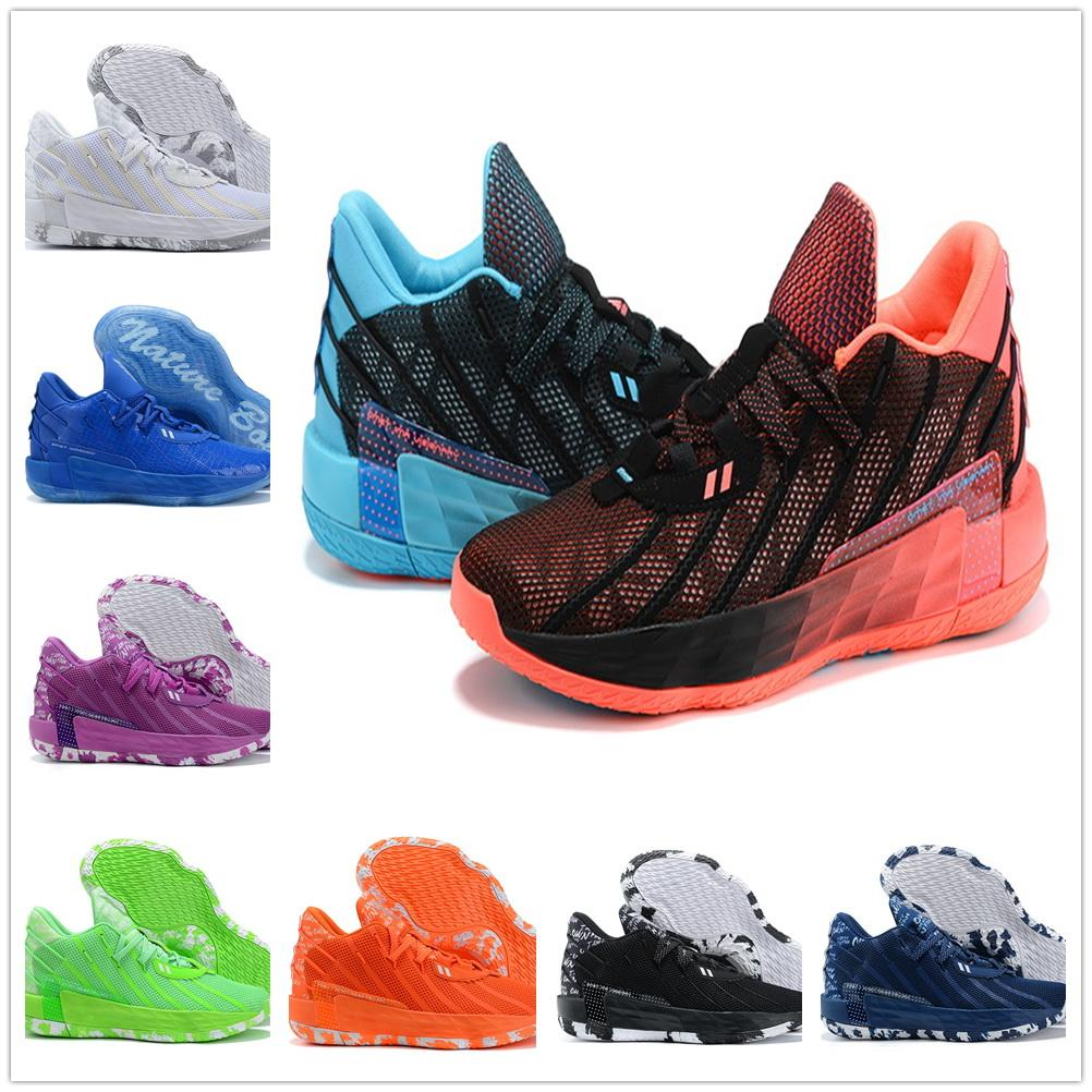 Dame Lillard 7 Sapatos de Basquete Dame 7 Botas locais Loja Online Treinamento Sneakers Dropshipping aceito Yakuda Best Sports Popular Men