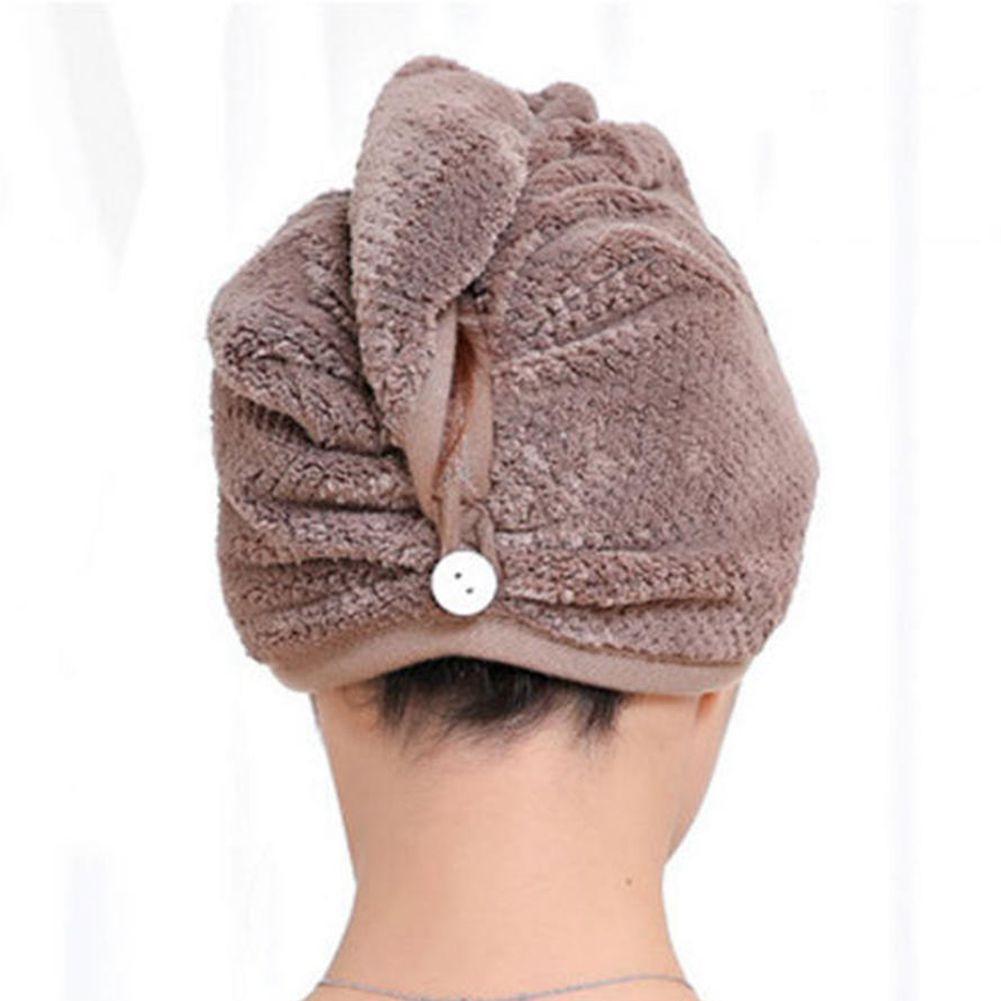 25 * 65см микрофибры сухое душевое полотенце 500 шт. Купальники Caps SPA полотенце крышки для волос супер абсорбирующие сухие душевые волшебные купания быстрые шляпы GFHXS
