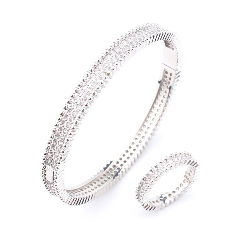 Fashion Diamond Bracelet gold bracelet womens charm bangles jewelry rose gold fashion bracelet ring wholesale