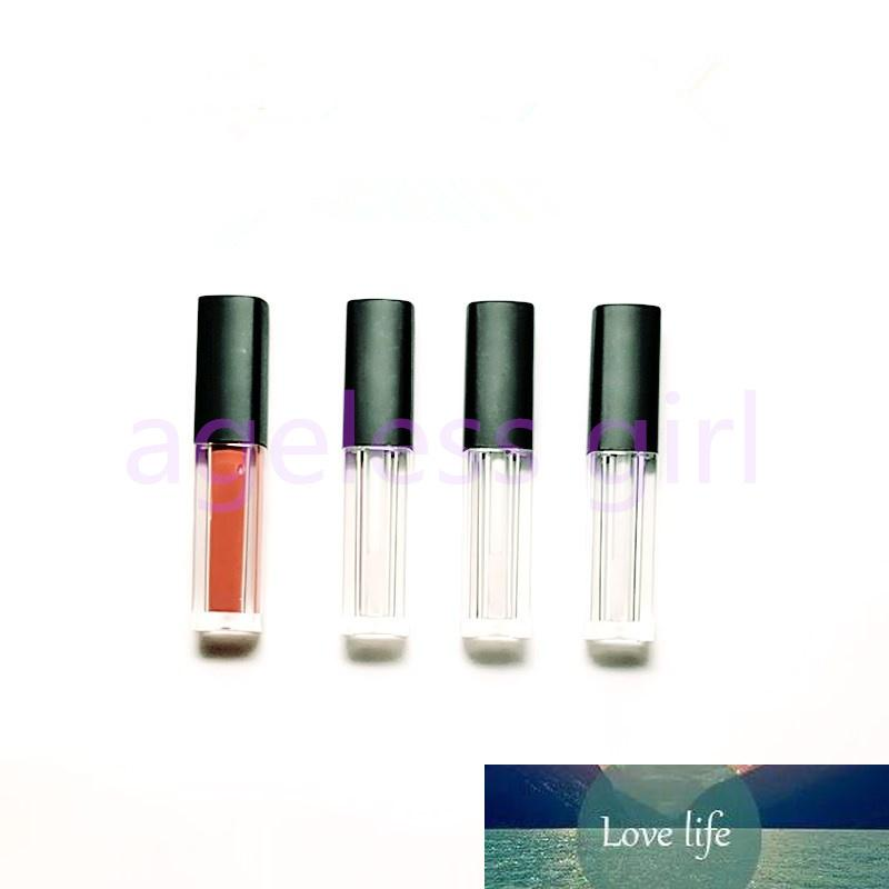 1.5ML Plastic Empty Lip Gloss Tube Sample Lip Glaze Bottles Lipstick TubesSquare Lipcare Oil Refillable Bottles 30/50/100pcs