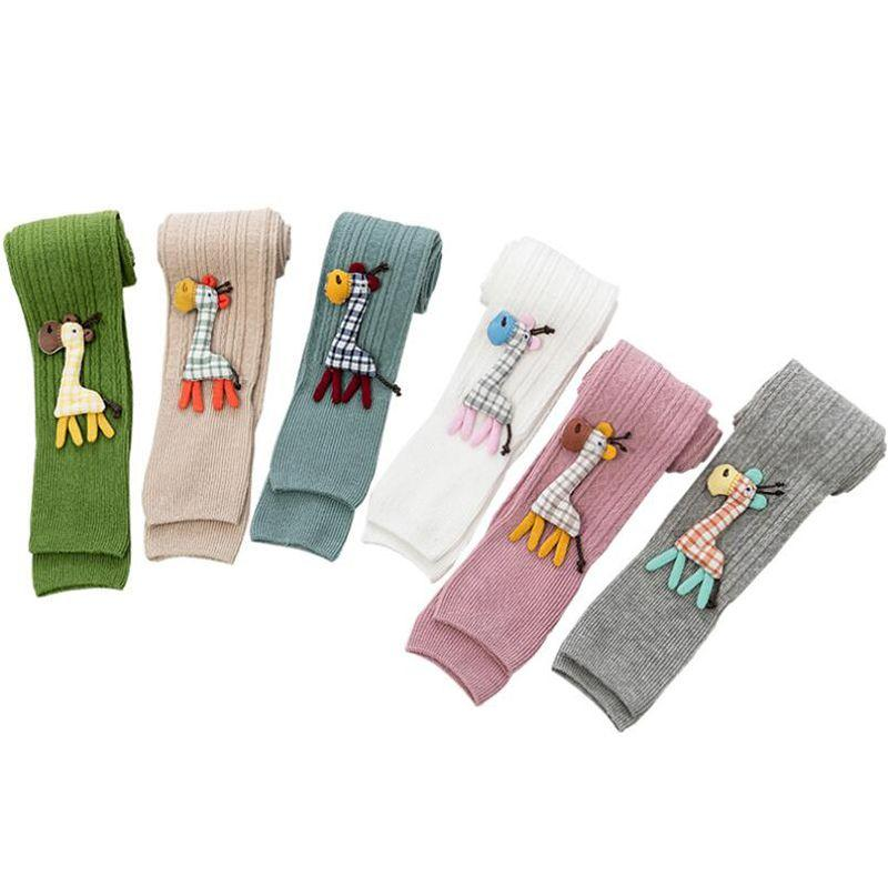 Kid Leggings For Girls Cotton Infant Baby Toddler Newborn Boys Solid Casual Stockings Children 0-4T Winter Warm Pant