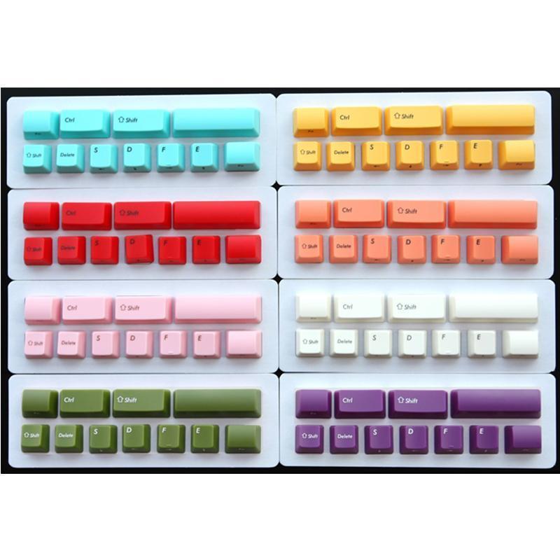 ABS Backlit Machanical Keyboard Keycap OEM Height For FILCO Minila Machanical Keyboard Keycap White Pink Orange