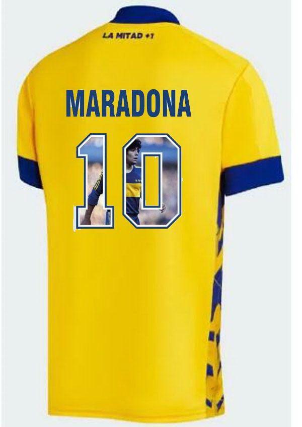 Boca Juniors 1995 10 Maradona 10 Casa Camisa de Futebol Futebol Jersey 20-21 Galeria Estilo Impressão Yakuda Best Sports Barato Loja Online Local