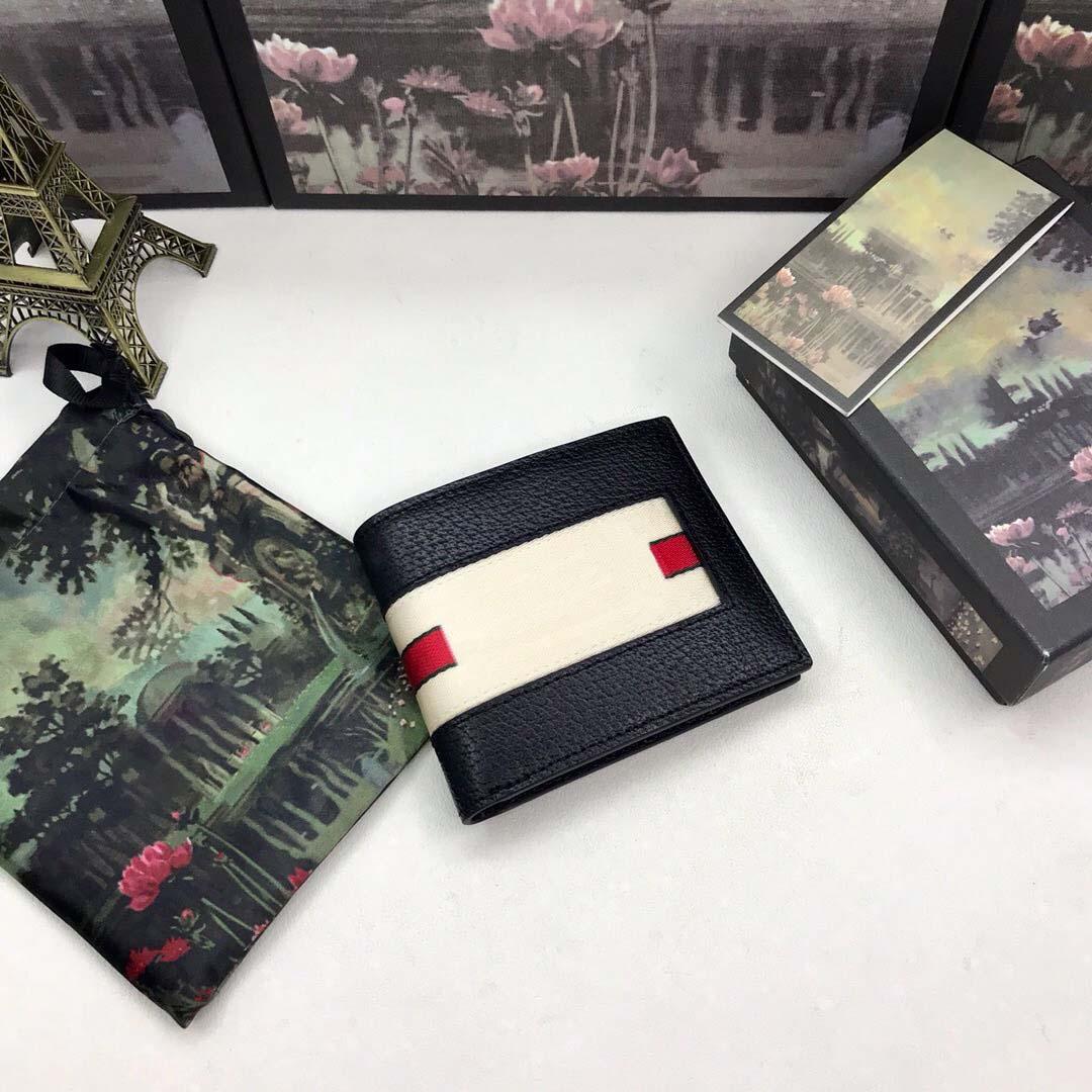 Portefeuille noire courte haute qualité femmes 057 boîte DKJCL Luxurys avec designeurs de sac à main Véritain Titulaire de carte de crédit portefeuille cuir USAXS