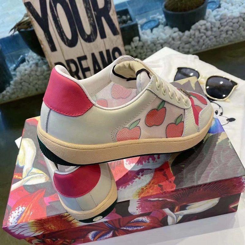 2021 Vender bem nova moda sapatos casuais Genuine Leather Sneaker Sapatos de Couro genuínas Mulheres Casual Sapatos por Home011 01