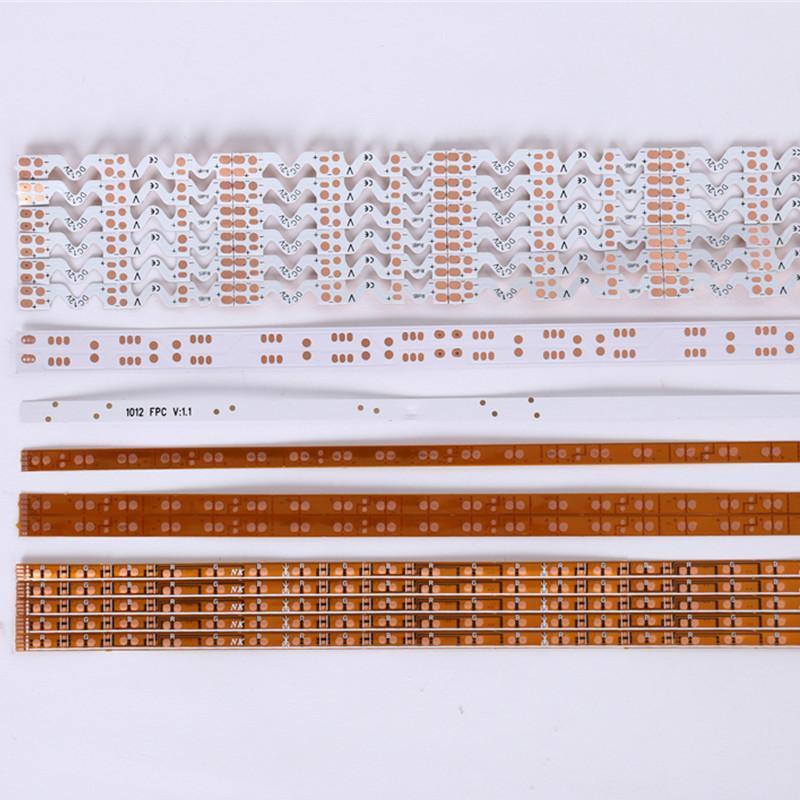 FR4 PCB LED 플렉시블 보드 유연한 라이트 바 회로 보드 PCB 인쇄 회로 기판 PCB 제조