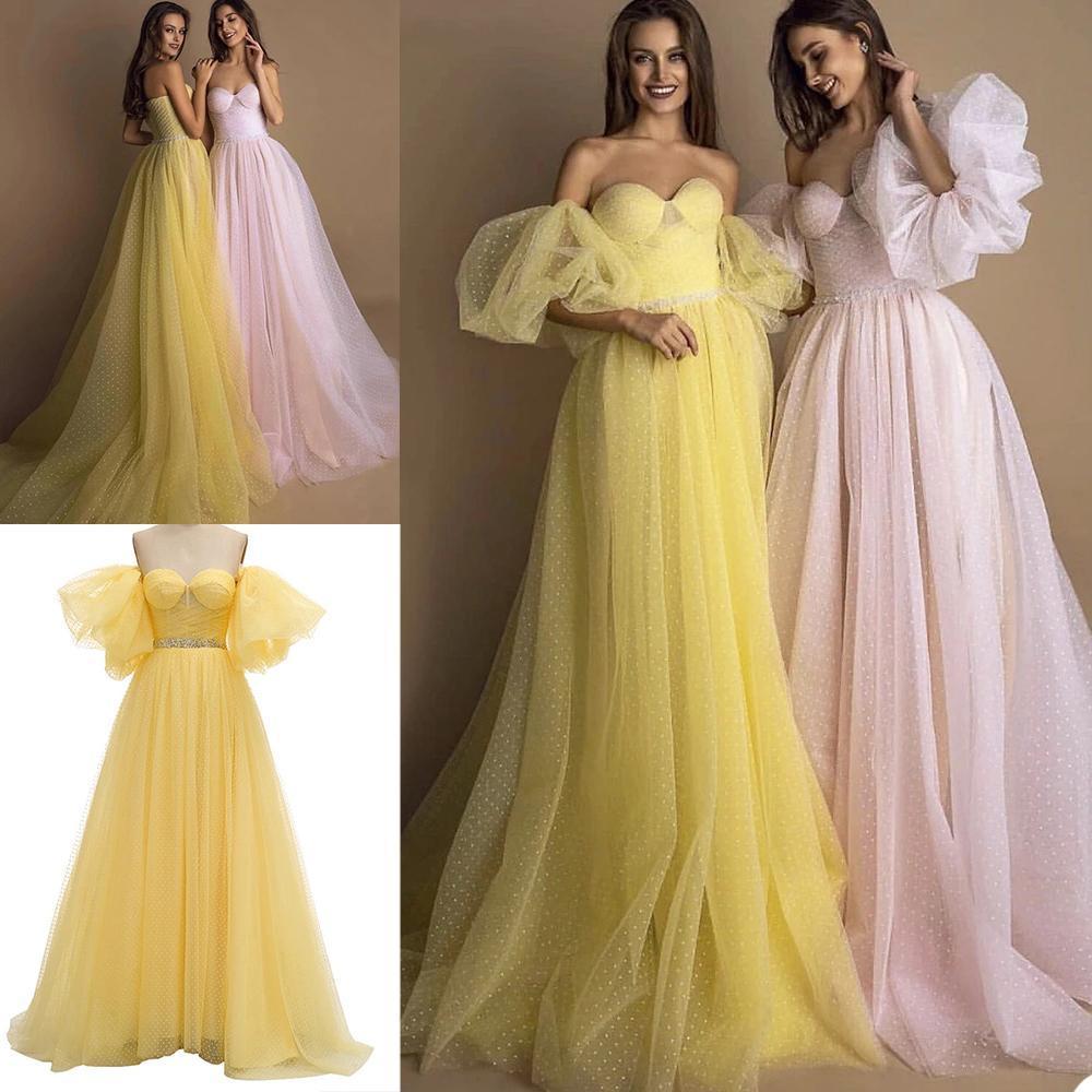 Robe de soirée élégante d'une ligne de soir APPLIQUES APPLIQUES Dentelle robe de bal de balayage Train spécial occasionnelle robe robe formelle robe de soirée vestidos
