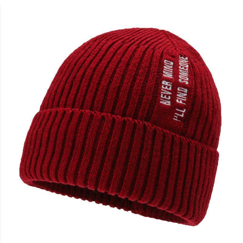 Hiver femmes chapeau bennie solide laine épaissie cruelle chapeau pour vieilles femmes âgées tricoté de bonnet chaud doux casque bon capot de plein air