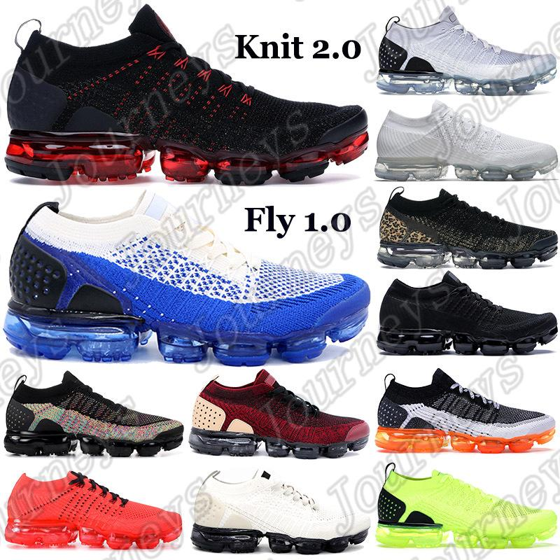 2021 2.0 Classic Fly 1.0 Беговые Обувь Мужчины Женщины Тройные Черные Многоцветные Белые Кроссовки Китайский Новый год Полуночные Фиолетовые Тренеры