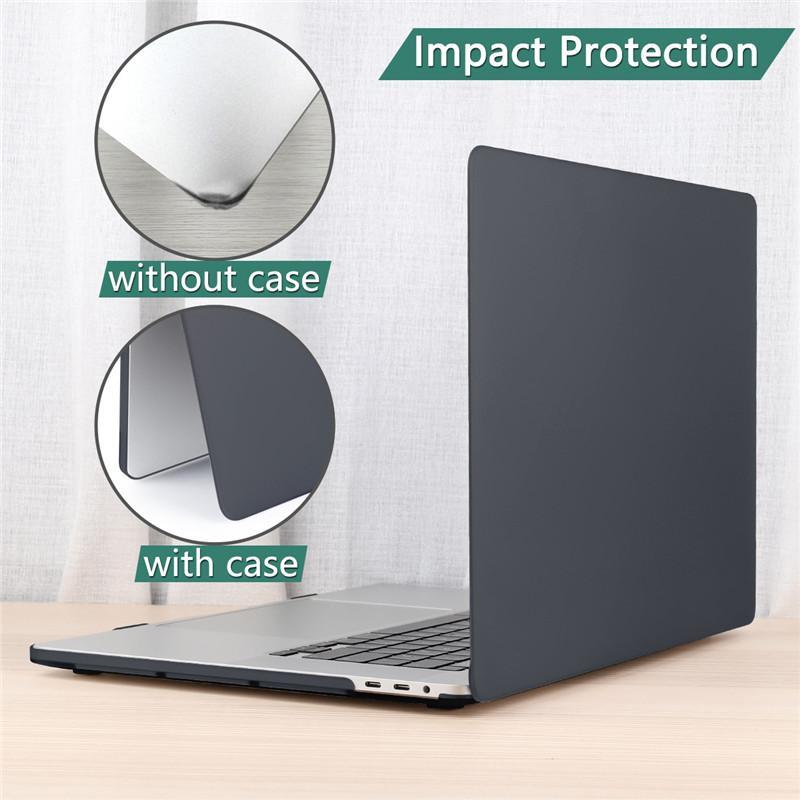 Caso de laptop para laptop Air Pro Retina New Touch Bar 11 12 13 15 polegadas Capa de capa de laptop duro 13.3 Saco Shell