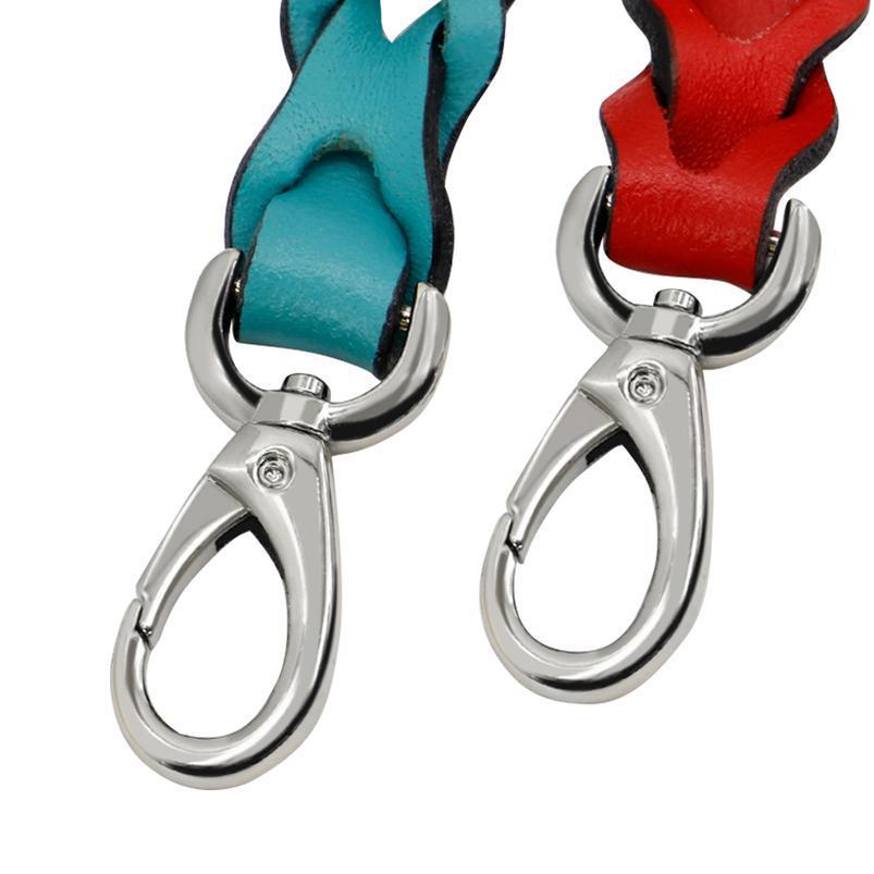 Cuir tressé de laisse de chien de chien Pet Puppy promenades promenades animaux domestiques Chiens Laisses ceinture pour petite taille moyenne de gros chiens traction ro sqcmfz