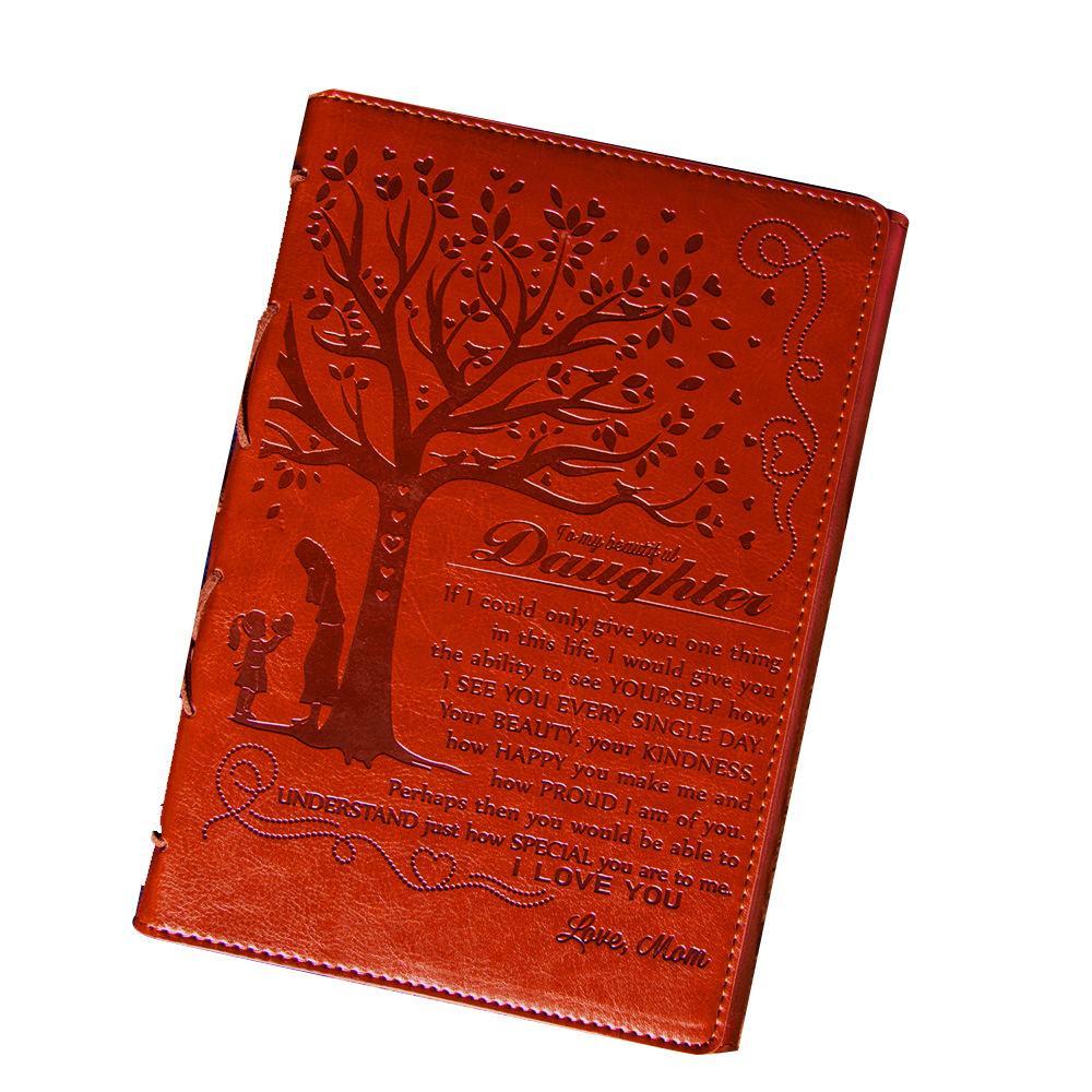 Taccuino del diario del diario di viaggio del taccuino del diario del diario di viaggio del retro dell'ingrosso su misura
