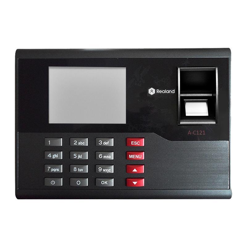 Toptan-A-C121 TCP / IP Biyometrik Parmak İzi Zaman Saat Kaydedici Katılım Çalışan Elektronik Punch Reader Makinesi Realand ile